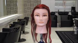 فیلم جدیدترین روش بالیاژمو مدل رنگ مو رزگلد