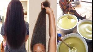 کلیپ روش تهیه ماسک مو  به سبک آفریقایی + افزایش رشد مو