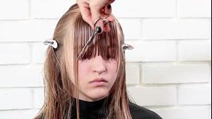 کلیپ آموزش کوتاه کردن جلوی مو