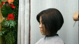 کلیپ کوتاه کردن مو مدل گرد +آموزش حرفه ای کوتاهی مو