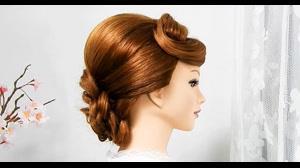کلیپ آموزش ساده شینیون مجلسی با بافت مو