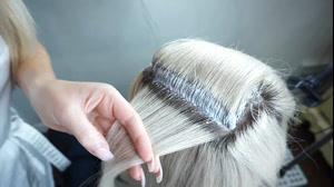 فیلم آموزش دکلره کردن ریشه مو + رنگ کردن مو