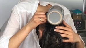 کلیپ روش تهیه ماسک مو برنج  + تقویت مو