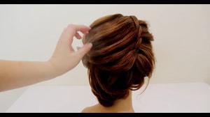 کلیپ شینیون مو با جدیدترین روش بافت مو و گره