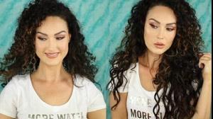 کلیپ بلند و  پر حجم کردن مو فر با اکستنشن مو
