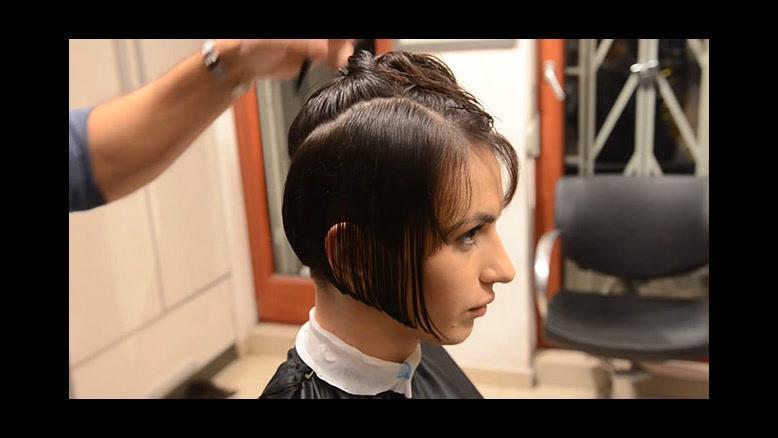 آموزش کوتاه کردن مو + مدل مو  قارچی اسپرت