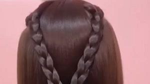 کلیپ آموزش مدل های مختلف بافت مو + شینیون بافت مو