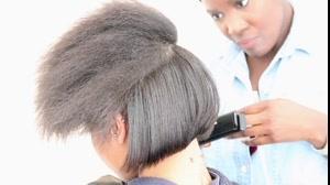 فیلم کوتاه کردن مو  مدل اسپرت + کراتینه مو