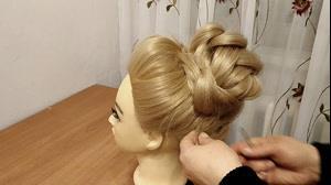 کلیپ آموزش شینیون مو بالای سر + مدل مو مجلسی