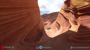 صخره موج آریزونا در ایالات متحده !  زیباترین صخره های جهان - بوکینگ