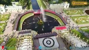 قصر پترهوف مجموعه تمام زیبایی های سن پترزبورگ روسیه - بوکینگ پرشیا