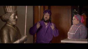 حموم رفتن احمد مهران فر-سکانس خنده دار سریال سال های دور از خانه