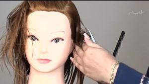 آموزش کوتاهی موی زنانه مدل باب لیر