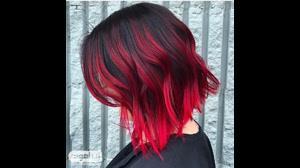 آموزش قرمز کردن مو  بدون  نیاز به دکلره