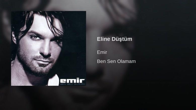 آهنگ ترکی Eline Düştüm با صدای Emir