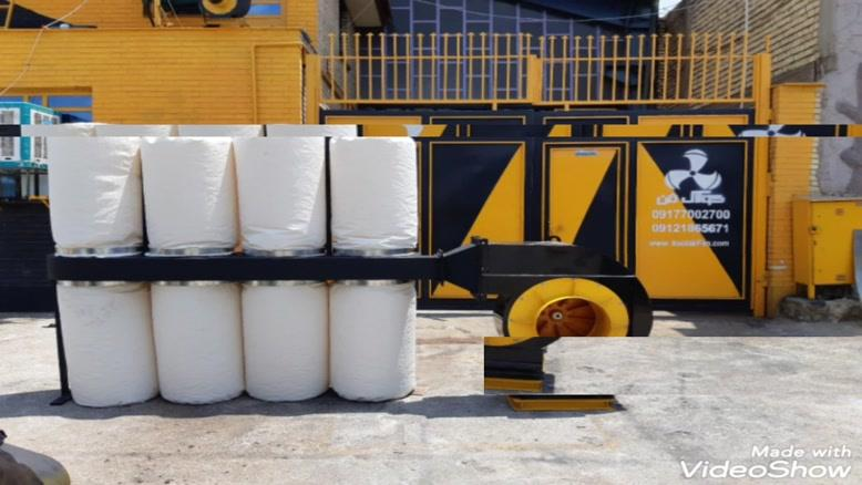 طراحی و ساخت انواع دستگاه غبارگیر و مکنده مرکزی و صعنتی مکنده نجاری