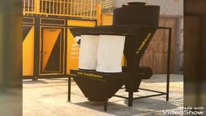 ساخت و طراحی و تولید کننده انواع سیکلون شرکت کولاک فن ۰۹۱۲۱۸۶۵۶۷۱