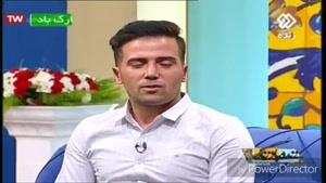 مصاحبه زنده شبکه دوسیما با جناب مهندس سوری تولیدکننده برتر کشور