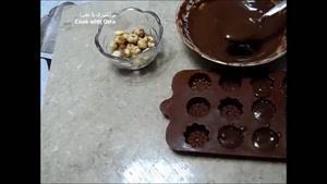 طرز تهیه شکلات با مغز فندق