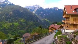مناظر زیبای مورن و گیملوالد سوئیس