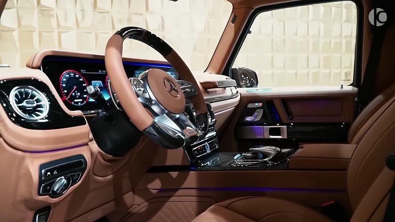 رونمایی از خودروی جدید مرسدس بنز BRABUS 800