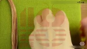 آموزش مکرومه بافی _ بافت دستبند