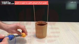 ساخت آبنما چوبی