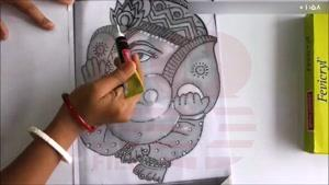 آموزش نقاشی روی شیشه