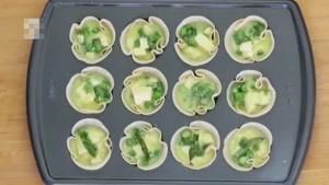 طرز تهیه مافین تخم مرغ و مارچوبه