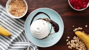 طرز تهیه کیک بستنی خامه ای