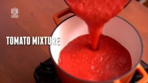 طرز تهیه سوپ گوجه فرنگی با تست گوشت