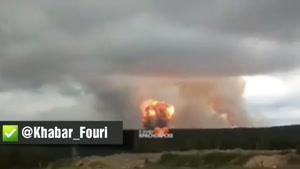 ۸ زخمی و یک کشته در آتش سوزی انبار مهمات توپخانه در منطقه سیبری روسیه