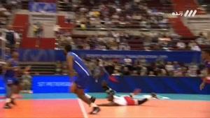 ست دوم  والیبال ایران - کوبا