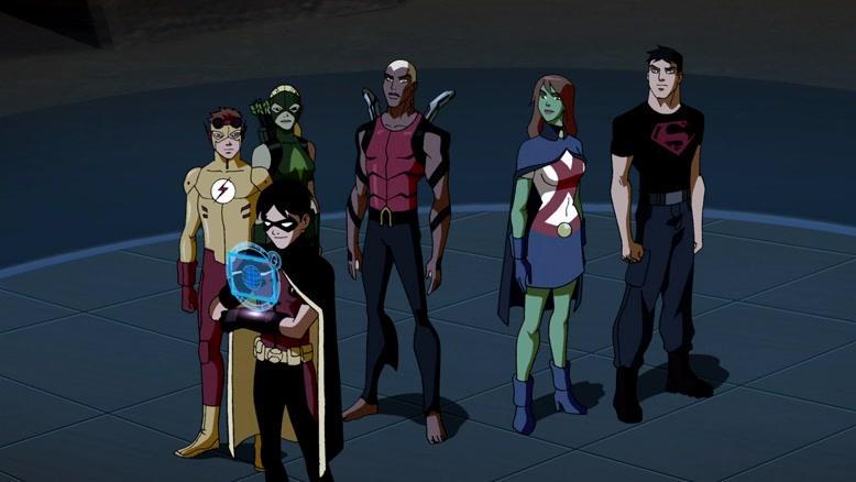 انیمیشن عدالت جویان جوان فصل ۱ قسمت شانزده