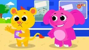 انیمیشن آموزش زبان انگلیسی Little Angel قسمت سی و دو