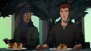 انیمیشن عدالت جویان جوان فصل 3 قسمت  بیست و دو