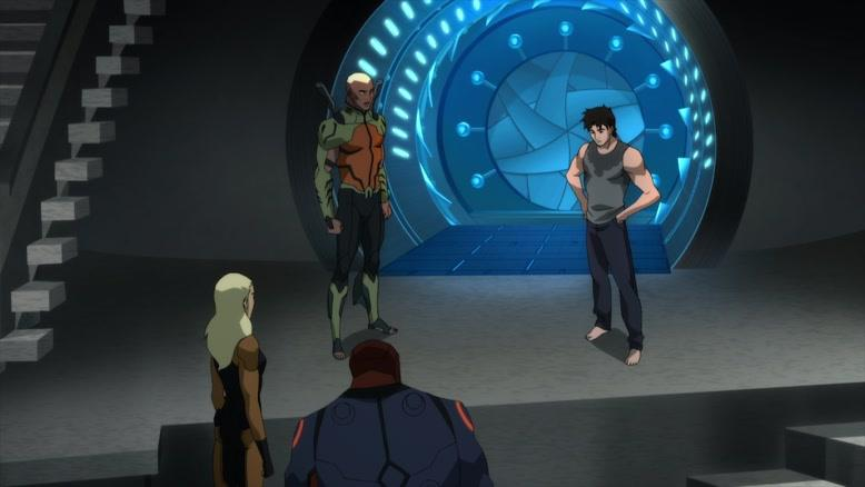 انیمیشن عدالت جویان جوان فصل 3 قسمت  بیست و سه