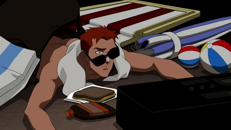 انیمیشن عدالت جویان جوان فصل ۱ قسمت شش