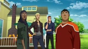 انیمیشن عدالت جویان جوان فصل 3 قسمت یازده