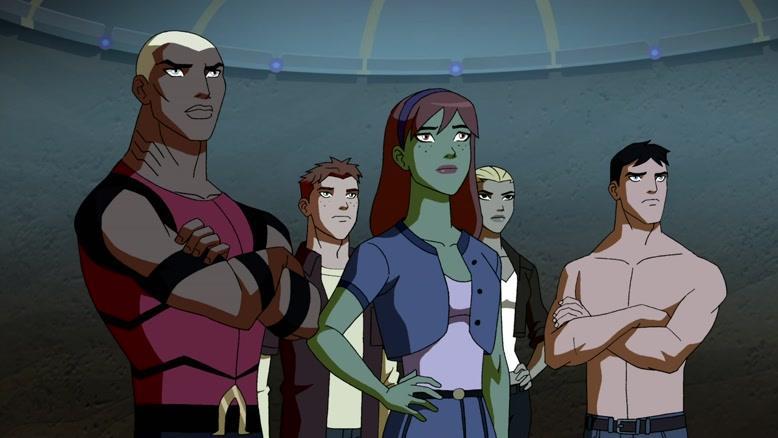 انیمیشن عدالت جویان جوان فصل ۱ قسمت هفت