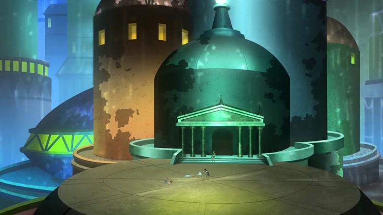 انیمیشن عدالت جویان جوان فصل ۱ قسمت هشت