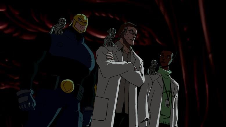 انیمیشن عدالت جویان جوان فصل ۱ قسمت دو
