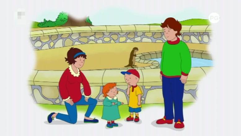 انیمیشن caillou قسمت هشتاد و سه
