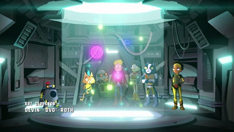 انیمیشن فضای نهایی  فصل 2 قسمت نه