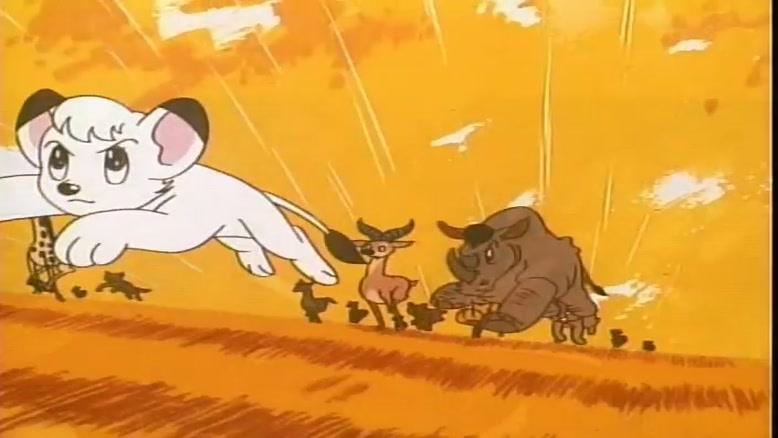 انیمیشن کیمبا شیر سفید قسمت سی و نه