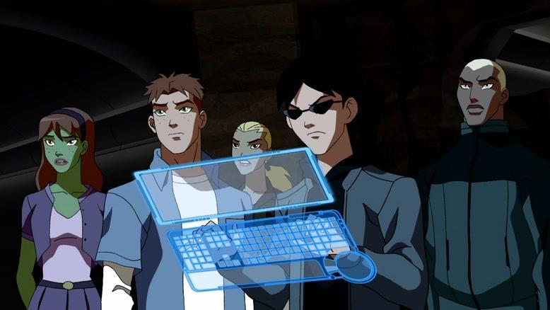 انیمیشن عدالت جویان جوان فصل ۱ قسمت چهارده