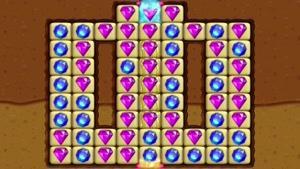تریلر بازی موبایل Diamond Digger Saga