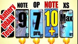 تست سرعت تخلیه باتری گوشی های پیشتاز بازار