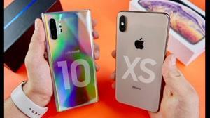 مقایسه سرعت و دوربین گوشی های Galaxy Note 10 Plus و iPhone XS Max