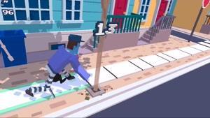 Steppy Pants بازی فوق العاده پیاده روی پینوکیویی